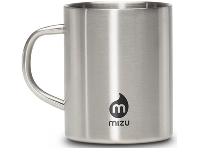 MIZU Camp Cup, stainless with black print